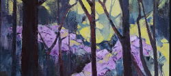 Windsor Great Park-Rhododendrons | 2016 | Oil on Canvas | 64 x 46 cmm