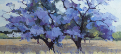 Jacarandas | 2013 | Oil on Canvas | 46 x 64 cm