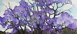 Jacarandas | 2013 | Oil on Canvas | 40 x 55 cm
