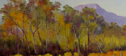 Autumn Vines with Trees - Grande Provence | 2019 | Oil on Canvas | 54 x 62 cm